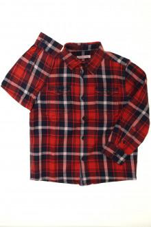 vetements enfants d occasion Chemise à carreaux Monoprix 6 ans Monoprix
