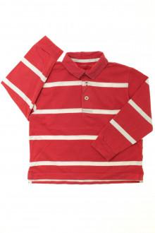 vêtements enfants occasion Polo manches longues rayé Monoprix 4 ans Monoprix