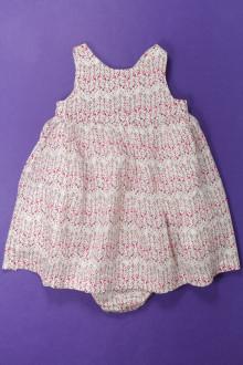 vêtements bébés Robe fleurie et bloomer Bout'Chou 9 mois Bout'Chou