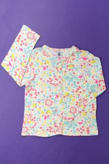 vetement occasion enfants Tee-shirt manches longues à pressions Petit Bateau 3 ans Petit Bateau