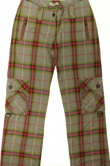 vetement occasion enfants Pantalon tartan Burberry 12 ans Burberry