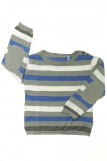 vêtements occasion enfants Pull rayé Okaïdi 3 ans Okaïdi