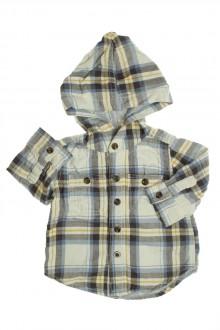 vêtements bébés Chemise à carreaux à capuche Gap 6 mois Gap