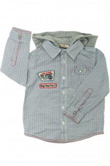 vetement d'occasion Chemise à carreaux à capuche DPAM 3 ans DPAM