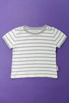vetements enfant occasion Tee-shirt manches courtes rayé Château de sable 3 ans Château de sable