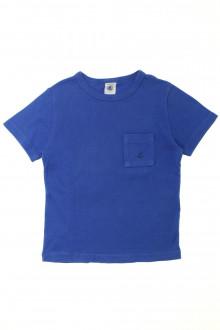 vetement occasion enfants Tee-shirt manches courtes Petit Bateau 6 ans Petit Bateau