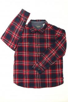 vetement d'occasion enfants Chemise à carreaux Okaïdi 8 ans Okaïdi
