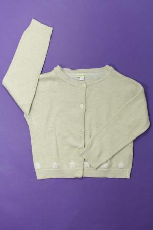vraiment à l'aise divers design meilleur authentique Gilet doré Doré et blanc Vertbaudet 4 ans