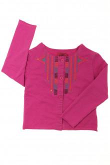 vetements enfant occasion Tee-shirt manches longues boutonné La Compagnie des Petits 3 ans La Compagnie des Petits