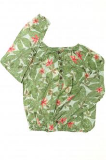 vêtement enfant occasion Blouse fleurie Okaïdi 6 ans Okaïdi