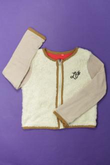 vêtement enfant occasion Sweat zippé bi-matière Captain Tortue 6 ans Captain Tortue