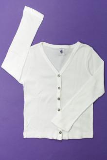 vêtements enfants occasion Tee-shirt manches longues boutonné Petit Bateau 6 ans Petit Bateau