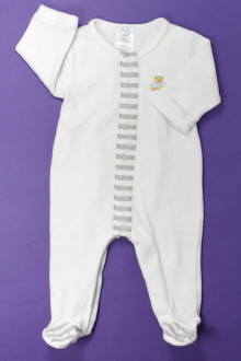 vetement bébé d occasion Pyjama/Dors-bien en velours Jacadi 6 mois Jacadi