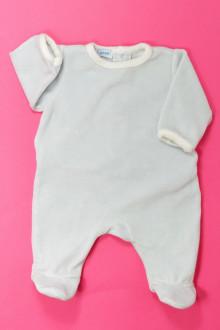 vetement bébé d occasion Pyjama/Dors-bien en velours DPAM Naissance DPAM