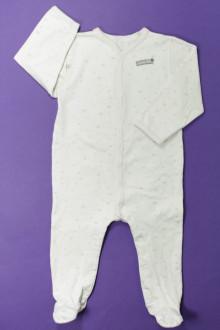 habits bébé Pyjama/Dors-bien en coton étoilé Absorba 12 mois Absorba