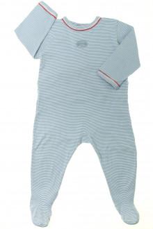 vetements d occasion bébé Pyjama/Dors-bien en coton milleraies Petit Bateau 18 mois Petit Bateau