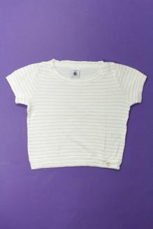 vetement occasion enfants Tee-shirt manches courtes rayé Petit Bateau 4 ans Petit Bateau