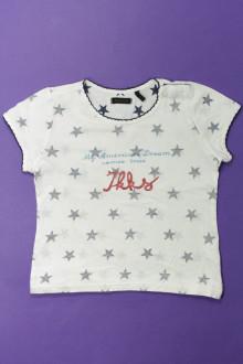 vetement occasion enfants Tee-shirt manches courtes étoilé IKKS 4 ans IKKS