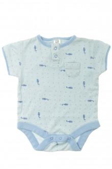 vetements d occasion bébé Body manches courtes