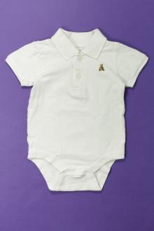 vetement bébé d occasion Body polo manches courtes Gap 6 mois Gap