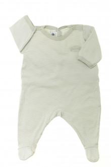 vêtements bébés Pyjama/Dors-bien en coton milleraies Petit Bateau 3 mois Petit Bateau