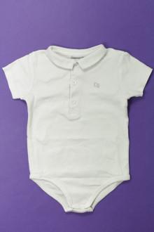 Habits pour bébé Body polo manches courtes Cyrillus 18 mois Cyrillus