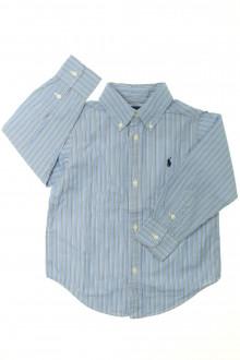 vetements enfants d occasion Chemise rayée Ralph Lauren 3 ans Ralph Lauren
