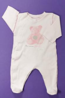 Habit d'occasion pour bébé Pyjama/Dors-bien en coton Absorba 3 mois Absorba