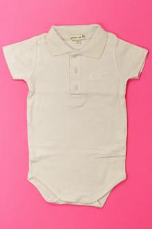 habits bébé Body polo manches courtes Grain de Blé 3 mois Grain de Blé