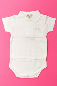 Habits pour bébé occasion Body polo manches courtes Grain de Blé 3 mois Grain de Blé