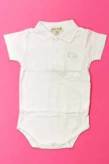 Habit d'occasion pour bébé Body polo manches courtes Grain de Blé 3 mois Grain de Blé