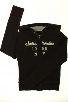 vetement occasion enfants Sweat zippé à capuche Abercrombie 8 ans Abercrombie
