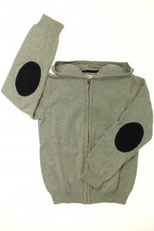 vêtements enfants occasion Gilet zippé à capuche Jacadi 8 ans Jacadi