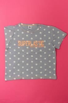 vêtements enfants occasion Tee-shirt manches courtes étoilé Petit Bateau 10 ans Petit Bateau