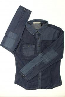 vetements d occasion enfant Chemise en jean - 14 ans IKKS 12 ans IKKS