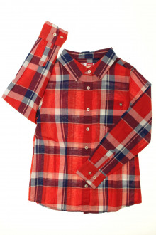 vêtements enfants occasion Chemise légère à carreaux DPAM 8 ans DPAM