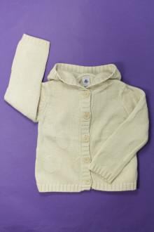 vêtements occasion enfants Gilet à capuche Petit Bateau 6 ans Petit Bateau