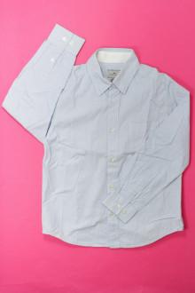vêtement enfant occasion Chemise à fines rayures Cyrillus 8 ans Cyrillus