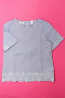 vêtements occasion enfants Blouse brodée manches courtes Okaïdi 10 ans Okaïdi
