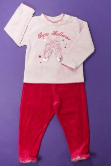 Habits pour bébé occasion Pyjama en velours