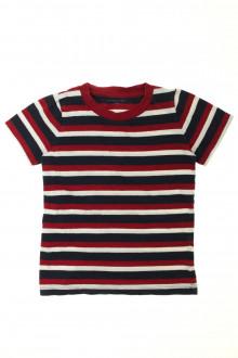 vetement occasion enfants Tee-shirt manches courtes rayé Monoprix 6 ans Monoprix