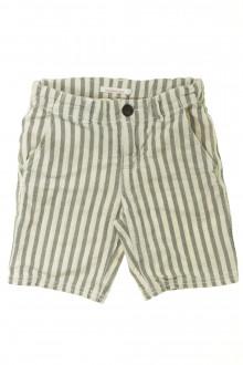 vêtements occasion enfants Bermuda rayé Monoprix 5 ans Monoprix