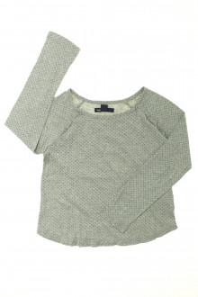 vetement d'occasion Tee-shirt manches longues à pois Gap 7 ans Gap