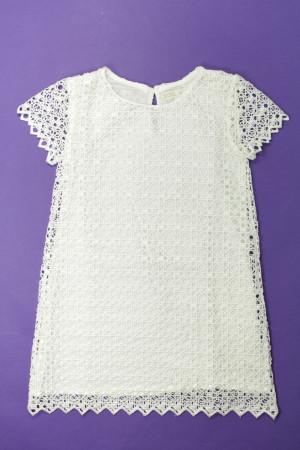 6005cbe2bdb Robe crochetée Zara Fille 6 ans d occasion sur RoseIndigo   Achetez ...