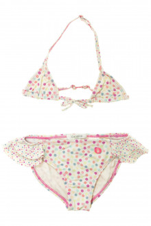 vetement occasion enfants Bikini à pois Okaïdi 4 ans Okaïdi