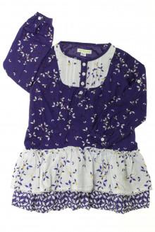 vêtements enfants occasion Robe manches longues fleurie Vertbaudet 3 ans Vertbaudet