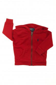 Habits pour bébé occasion Sweat zippé Ralph Lauren 9 mois Ralph Lauren