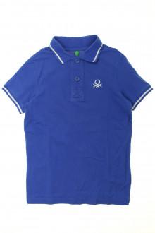 vêtement enfant occasion Polo manches courtes Benetton 8 ans Benetton