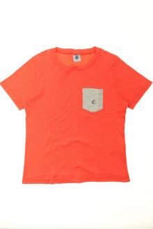 vêtement enfant occasion Tee-shirt manches courtes Petit Bateau 8 ans Petit Bateau