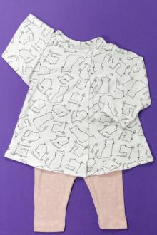 vetement bébé d occasion Ensemble tee-shirt et legging Vertbaudet 1 mois Vertbaudet